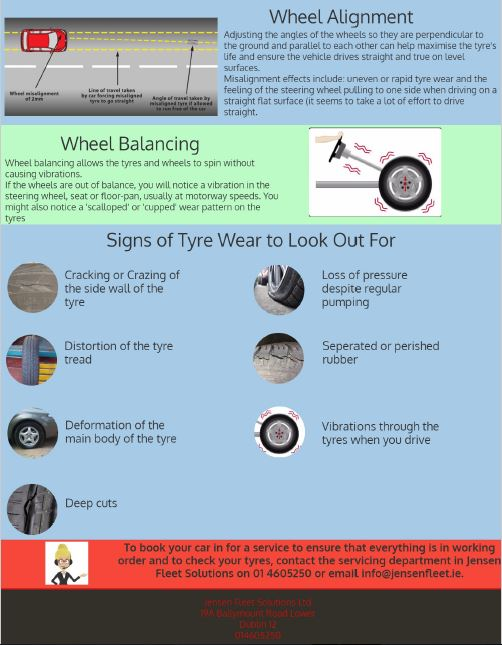 Tyre Safety Jensen Fleet Solutions